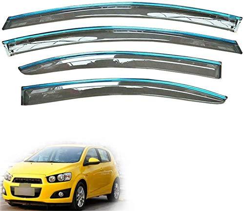 XGFCNB, para Chevrolet Aveo Hatchback 2011 2012 2013 2014 2015 2016 2017 2018 Ventana de Humo de Coche Visera de Lluvia Protector de Deflector de Sol de ventilación