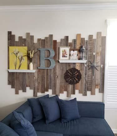 Wandverkleidung aus recyceltem Scheunenholz, Dielen für Akzentwände (1 Quadratfuß) - 7