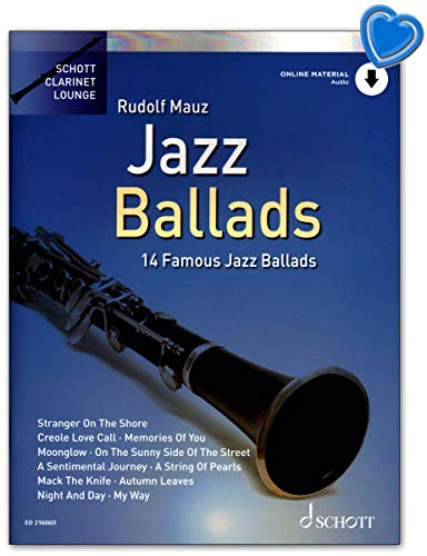 Jazz Ballads – 14 famosos globos Jazz – Edición con audio en línea. Juego de piano - ED21606D 9783795717339