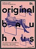 ポスター バウハウス Original frau mit maske 額装品 ウッドベーシックフレーム(ブラック)