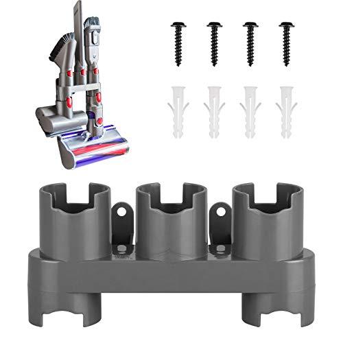 DIGIeye - Soporte organizador de accesorios compatible con aspiradora Dyson V11 V10 V8 V8 V7 inalámbrica, soporte de pared para accesorios, no más herramientas desordenadas