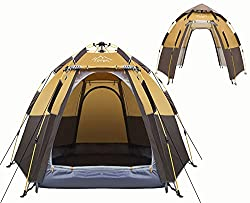 Budget Friendly Instant 4 Person Tent
