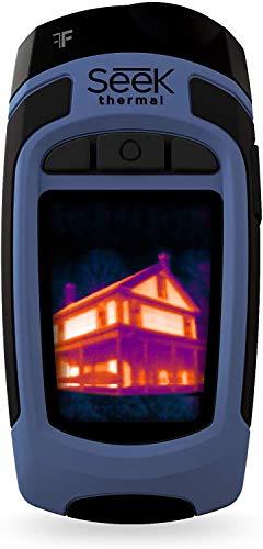 Seek Thermal Reveal FF (Fast Frame) - Wärmebildkamera mit integrierter Taschenlampe und Micro-SD Karte