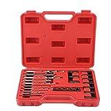 XinXinFeiEr Duradero 25pcs reparación de roscas de Tornillo Extractor fácil Drill & Tool Kit Set Guía de Quitar los Tornillos Rotos Pernos Fuerte