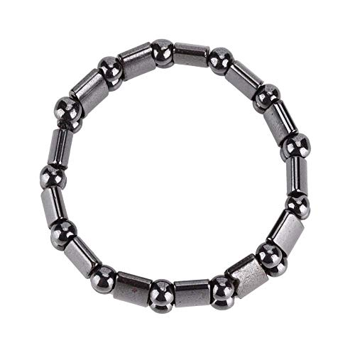 Magnetarmband, Frauen und Männer Modische Gesundheitsversorgung Magnetfeldtherapie Armband Abnehmen Armband(Doppelseitiger Lichtbogen)