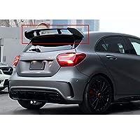 リアウィンドウ ルーフトップスポイラーウィングメルセデス・ベンツAクラスA180 A200 A260 W176 AMG外装装飾に適合 リア トランク スポイラー ウィング