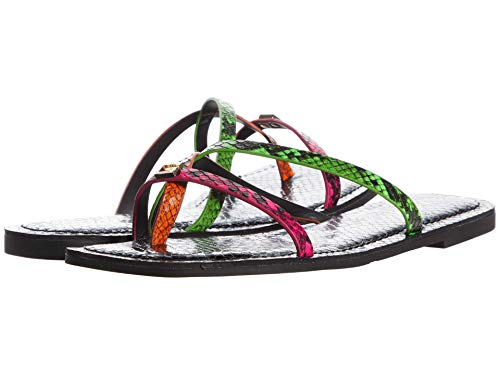 GUESS womens Caleah 3 Flat Sandal 7.5 medium US