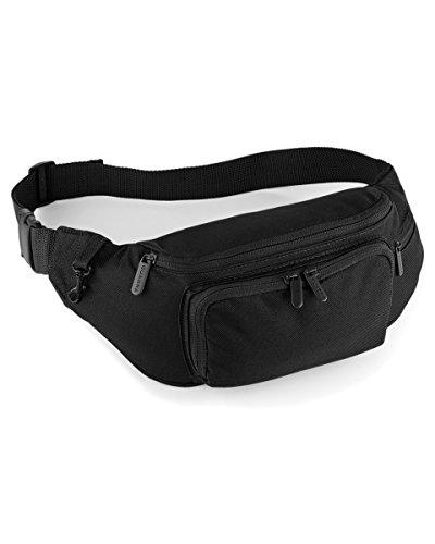 Quadra Hüfttasche, schwarz - Noir - noir - Größe: O/S