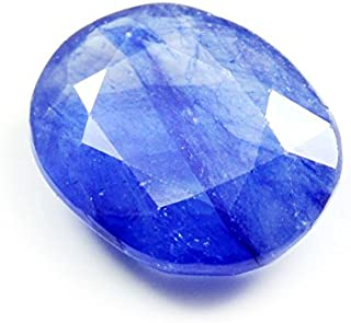 Gemsonclick Natural Genuine Blue Sapphire Loose Gemstone 3 Carat Oval Cut September Birthstone