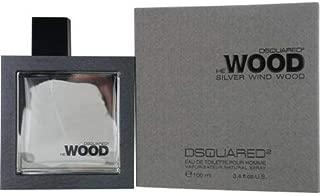 Dsquared2 He Wood Silver Wind Wood For Men -100ml, Eau de Toillette-