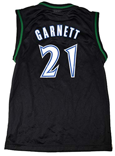 Outerstuff Youth Kevin Garnett Minnesota Timberwolves Replica Jersey (Youth Large (14-16))