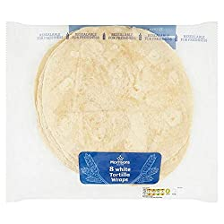 Morrisons White Tortilla Wraps 8 Pack