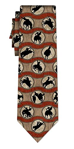 Ralph Marlin cravate soie ropin rodeo