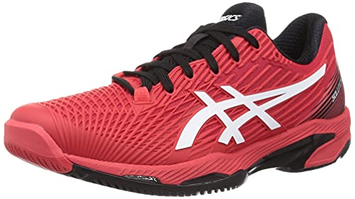 ASICS Solution Speed FF, Chaussure de Tennis Homme, Electric Red White, 43.5 EU