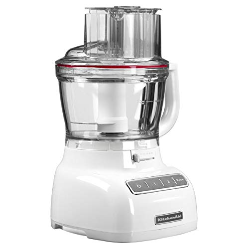 KitchenAid 5KFP1325EWH - Robot de cocina, 3,1 l, 300 W, 50 H