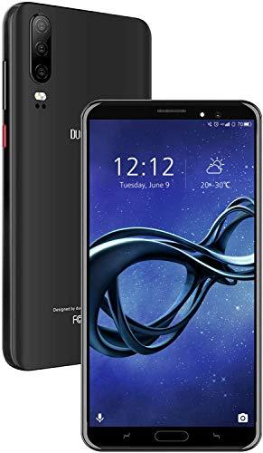 Moviles Libres 4G Android 9.0 Teléfono Móvil Libre 5.5 Pulgadas 16GB ROM/128GB TF, Quad Core Smartphone Libres 4800mAh Batería Dual SIM Dual Cámara Face ID Moviles Buenos