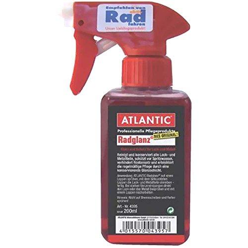 Atlantic Radglanz Reinigt und konserviert / Sprühflasche 200ml 4395 200 ML