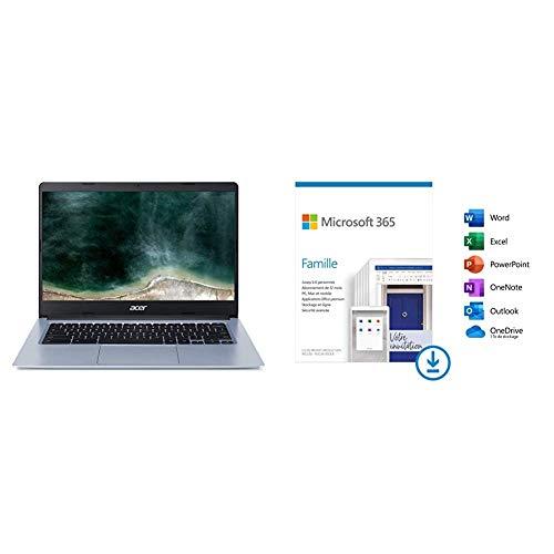 professionnel comparateur Ordinateur portable Acer Chromebook CB314-1H-C81H 14 pouces HD, gris (Intel Celeron, 4 Go + Microsoft… choix
