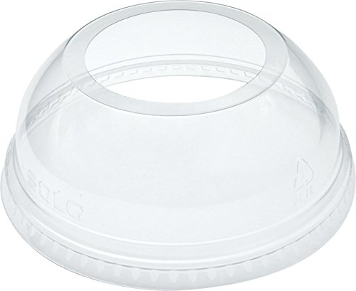 Save %21 Now! Dart DLW626 Clear Lid PET 626 Dome With Ex Lg Hole (Case of 1000)