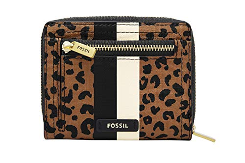 Fossil Logan RFID Mini Multifunction Cheetah