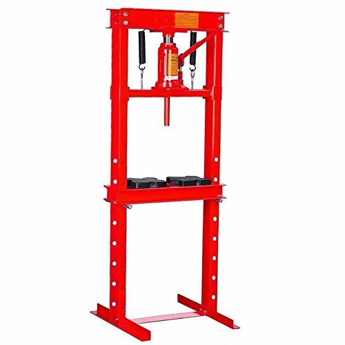 Great Features Of KCHEX>12 ton H-Frame Air Hydraulic Floor Press Shop Press Garage Heavy Duty Machin...