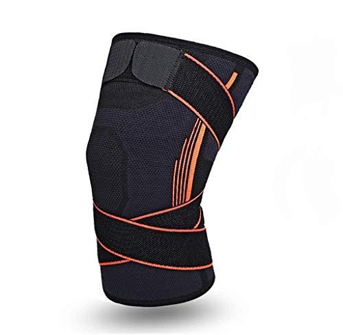 SOFIT Kniebandage Kompression Für Arthrose und Knieschmerzen, Knieunterstützung Bei Fitness, Gewichtheben, Joggen, 3D Atmungsaktive Knieschoner Für Damen und Männer (L, Black)