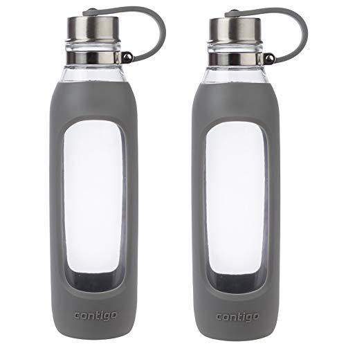 water bottle glass sport - 8