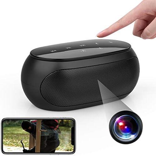 New Version Spy Camera Wireless Hidden ZXWDDP WiFi HD 1080P Bluetooth Speaker Camera Mini Nanny product image