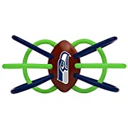 Officially licensed NFL product Suitable for Newborns and Up Maze of soft continuous tubes with rattle Stunning colors & sounds capture and hold baby's attention Baby Fanatic - premier manufacturer of officially licensed NFL, MLB, NHL, NBA and colleg...