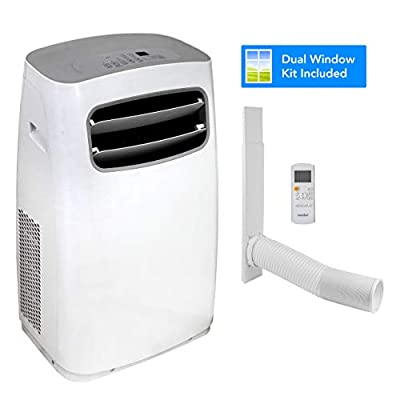 Devola Comfee Portable Air Conditioner 9000BTU 3 in 1 Wi-Fi Enabled Air Conditioning, Air Cooler, Dehumidifier, with Fan Function. Remote Control, LED Display, 3 Fan Speeds Sleep Mode & 24 Hour Timer