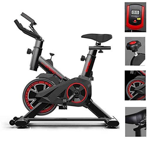 Bicicleta De Ciclismo De Interior Bicicleta Estacionaria Bicicleta Estacionaria, Transmisión Por Correa Magnética Bicicletas Verticales Para Ejercicio Cardiovascular, Volante Silencioso De 40 Lb Y M