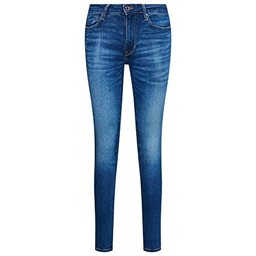 Guess Jeans Donna Skinny vestibilità Slim Fit Blu Denim W1RAJ3D4AOE-WIL1