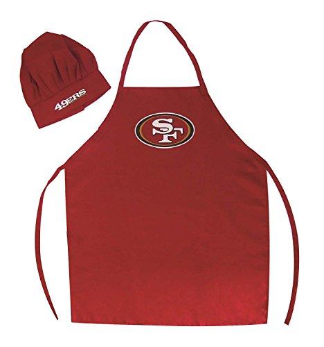 PSG San Francisco 49ers Apron and Chef Hat Set
