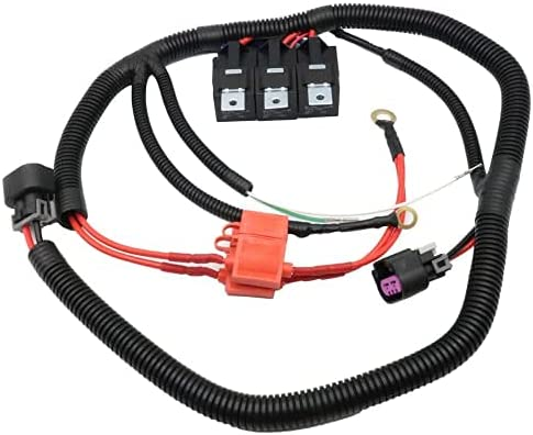 Electric Dual Fan Upgrade Wiring 7L5533A226T Import Compatible Harness Opening large release sale