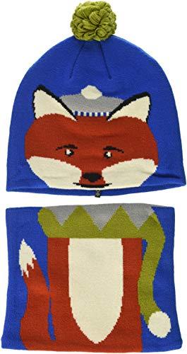 Columbia Set aus Beanie und Gamasche für Kinder, Snow More Beanie and Gaiter Set Toddler, Acryl, Blau (Super Blue Fox), Einheitsgröße, 1811541
