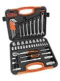 VonHaus Socket Set 90pc – Combo Tool Kit with Satin-Finished Tools & Storage