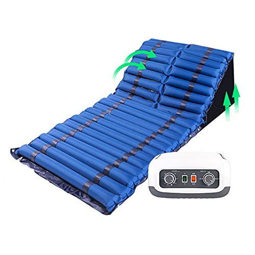 Air bed Anti-decubitus Turn Over And Back One-piece Nursing Air Cushion Alternate Massage, Silent Sleep, Pull-out Toilet Hole, 200x90cm/78.7x35.4in