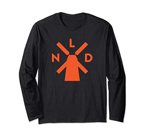 NLD | Holland Windmill Langarmshirt