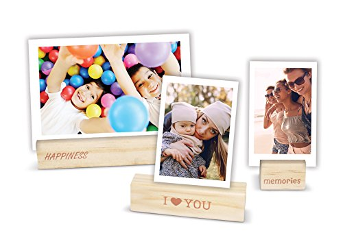 Fujifilm Suportes para fotos de madeira Instax - pacote com 3