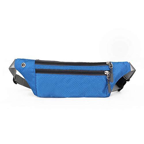 N / A Taillentasche weiblich Neue Sportmode wasserdichte Handtasche Unisex ändern Handyschlüssel Hüfttasche tragbare Dame Hüfttasche Brieftasche Paketlänge 30cm