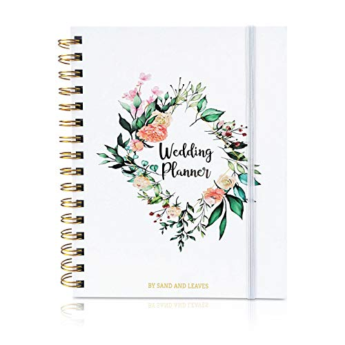 Simple Wedding Notebook Planner: Wedding Planner Organizer with Pocket, Tabs and Stickers | Perfect Engagement Gift for Couples with Complete Wedding Planner Checklist (A5 (6in x 8in))