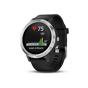 Smartwatch GARMIN Vivoactive 3 1,2in GPS Waterproof 5 ATM Glonass Black Stainless Steel (Renewed)