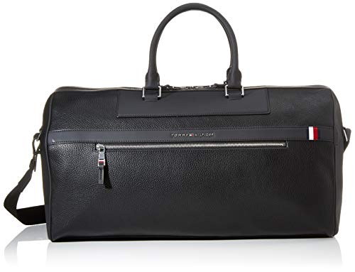 Tommy Hilfiger Herren Th Downtown Duffle Business Tasche, Schwarz (Black), 1x1x1 cm