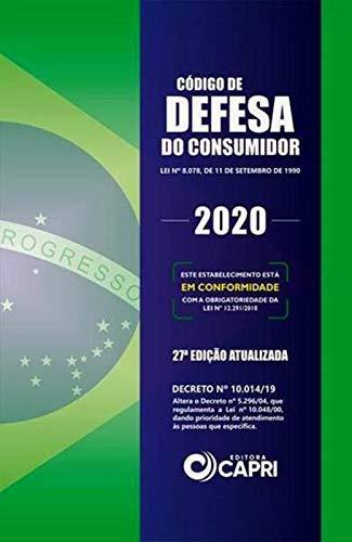 Código de Defesa do Consumidor 2020