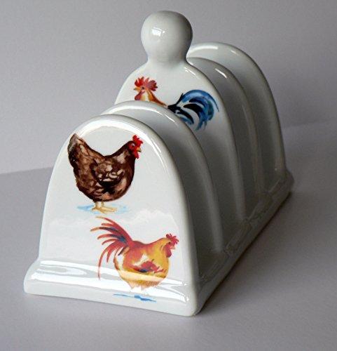 Chicken toast Rack toast ceramic toast rack holder