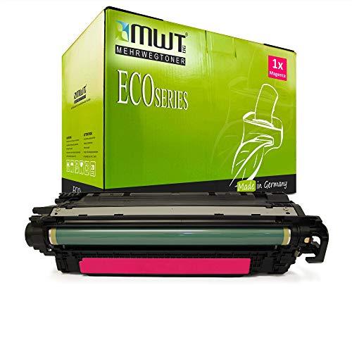 1x MWT kompatibel Toner fur HP Color Laserjet cm 3530 FS MFP ersetzt CE253A 504A