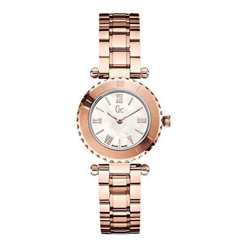 Guess Reloj Análogo clásico para Mujer de Cuarzo con Correa en Acero Inoxidable X70020L1S