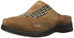 Ryka Womens Freelance Suede Mules