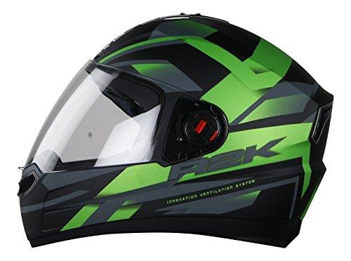Steelbird SBA1 R2K Full Face Helmet with Smoke Visor Matt B