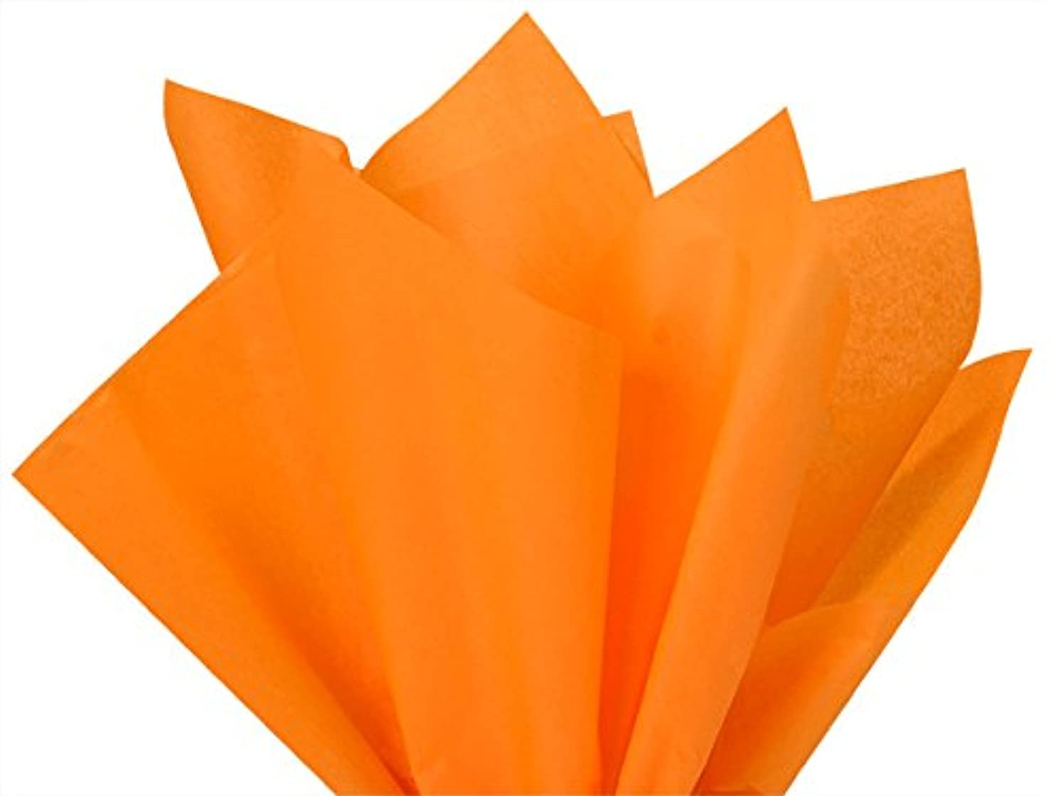 Brand New Tangerine Light Orange Bulk Tissue Paper 20 X 30-48 Sheets Premium Gift WRAP Tissue Paper A1 Bakery Supplies
